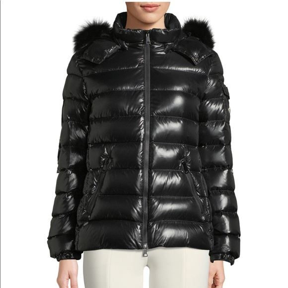 ae19e74cb Moncler badyfur coat in size 1 Boutique